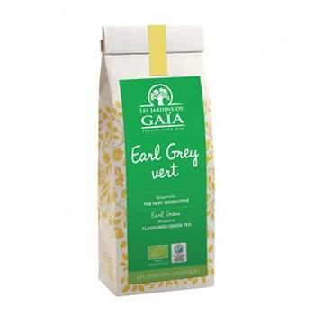 Thé vert Earl grey vert Les jardins de Gaïa - 100g