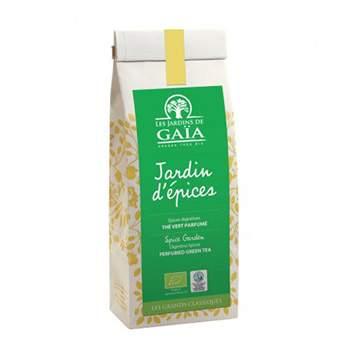 Thé vert Jardin d'épices Les jardins de Gaïa - 100g