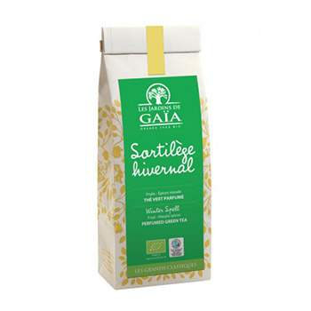 Thé vert sortilège hivernal Les jardins de Gaïa - 100g