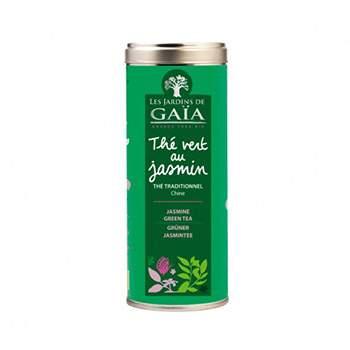 Thé vert au jasmin Les jardins de Gaïa - 100g