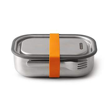 Lunch box en acier inoxydable Black+blum - orange