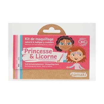Kit 3 couleurs Princesse & licorne Namaki