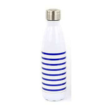 Bouteille isotherme 500 ml Yoko Design - Marinière bleue