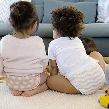 Lot de 2 culottes d'apprentissage en coton bio Imse Vimse