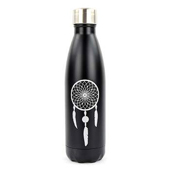 Bouteille isotherme 500 ml Yoko Design - Attrape rêve noir