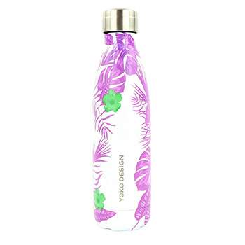 Bouteille isotherme 500 ml Yoko Design - Tropical Purple