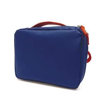 Lunch Bag EKOBO Royal blue-Persimmon