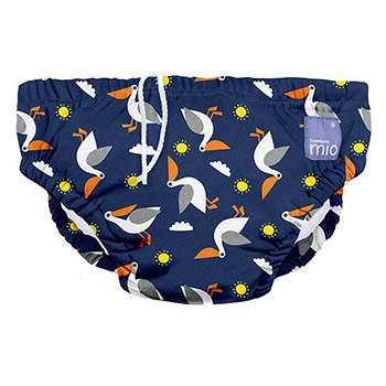 Maillot de bain bébé Bambino Mio Pélicans marine