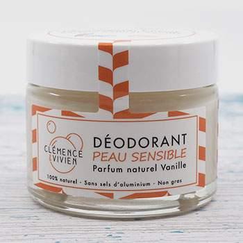 Déodorant naturel Peau sensible Vanille Clémence & Vivien