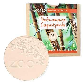 Poudre compacte bio Zao - Recharge