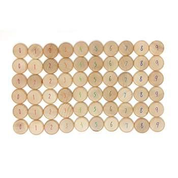 Pièces à compter en bois Grapat