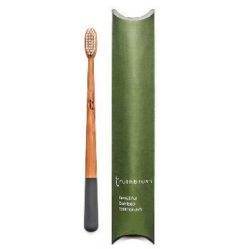 Brosse à dents en bambou Medium Truthbrush - storm grey
