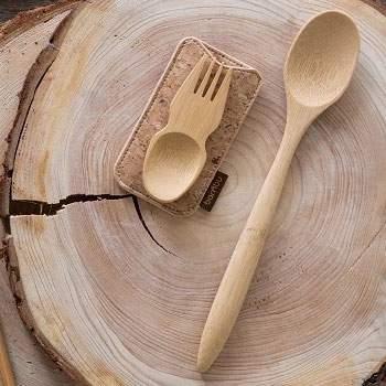 Longue cuillère en bois Bambu