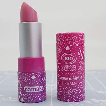 Baume à lèvres brillant nacré Namaki - Framboise