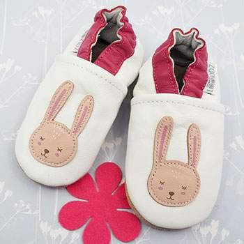 Chaussons en cuir Lookidz Bunny