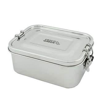 Lunch box anti-fuite en Inox A Slice Of green