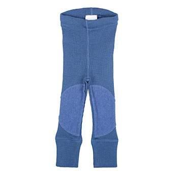Leggings en laine avec protège-genoux Manymonths Cosmos Blue