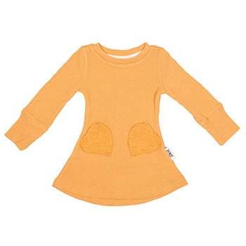 Robe en laine avec poche coeur Manymonths Golden Oat