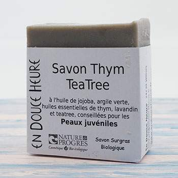 Savon Bio Thym/tea Tree En Douce Heure