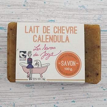 Savon Les Savons de Joya - Lait de chèvre & Calendula