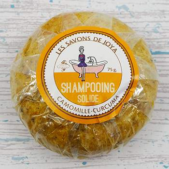 Shampoing solide Camomille/curcuma Les Savons de Joya