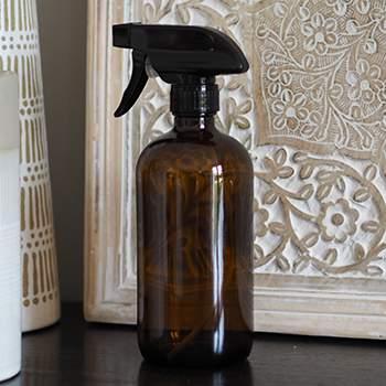 Flacon pulvérisateur en verre ambré 500ml