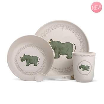 Coffret vaisselle en bambou Gaëlle Duval - Rhino