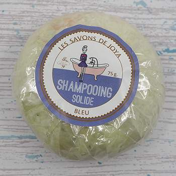Shampoing solide Bleu Les Savons de Joya