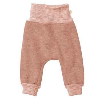 Pantalon en laine bouillie Disana Poudre