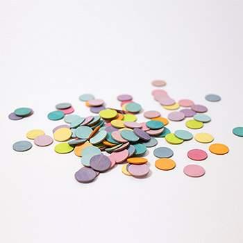 Confettis en bois Grimm's - Pastel