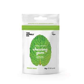 Chewing gum naturels menthe fraîche The Humble Co