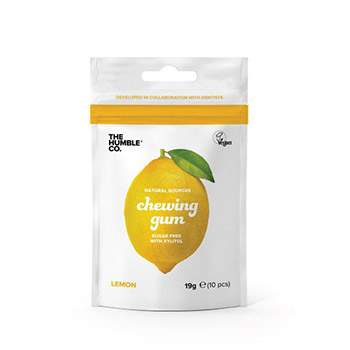 Chewing gum naturels Citron The Humble Co