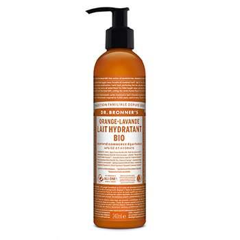 Lait Hydratant Orange-Lavande Dr Bronner