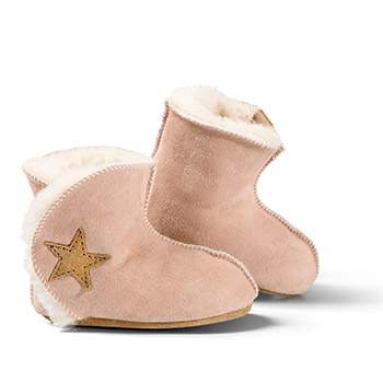 Bottines en peau d'agneau Ranger Fellhof - rose
