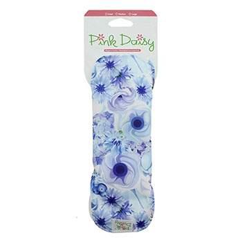 Serviette hygiénique lavable Pink Daisy - Coton bio