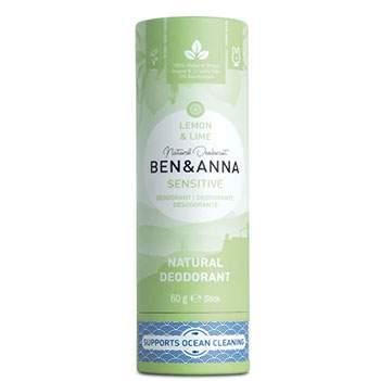 Déodorant stick Papertube Ben & Anna Sensitive Lemon & Lime