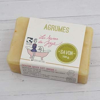 Savon surgras Les Savons de Joya - Agrumes