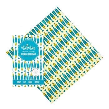 Emballage réutilisable à la cire d'abeille BeeBee - Sardines