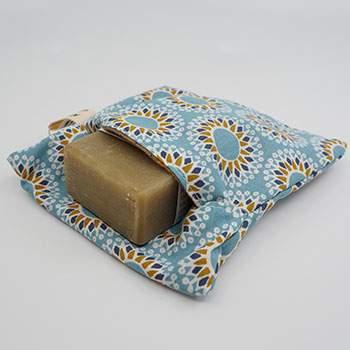 Pochette à savon en coton Altero Sac