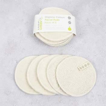 Lingettes démaquillantes lavables en coton bio A slice of Green