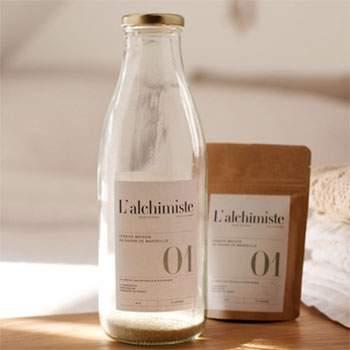 Lessive liquide écologique au savon de Marseille L'alchimiste