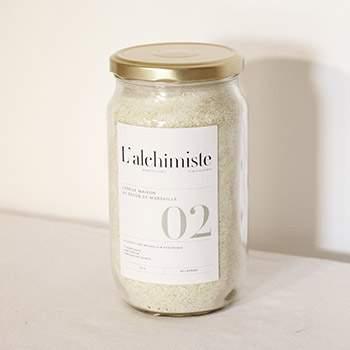 Lessive en poudre écologique au savon de Marseille L'alchimiste