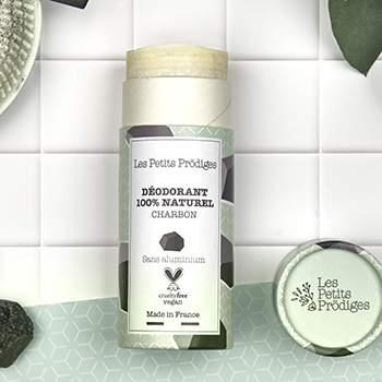 Déodorant solide Les Petits Prödiges Charbon & Eucalyptus