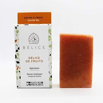 Savon à froid Bio Belice - Délice de fruits