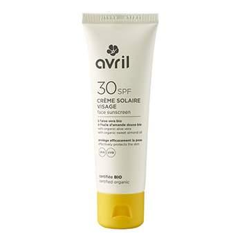 Crème solaire visage Bio Avril SPF30