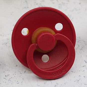 Tétine en caoutchouc naturel Bibs - Rouge rubis