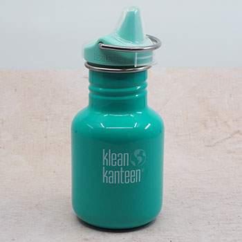 Gourde inox Kid 350ml Klean Kanteen Sippy cap - Turquoise