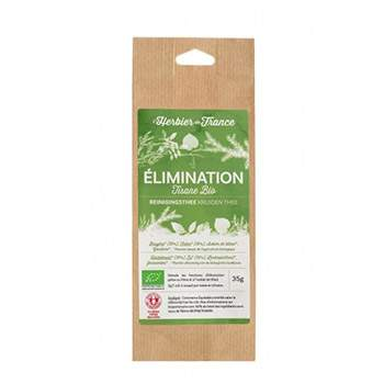 Tisane Elimination Bio - 35 g Herbier de France