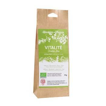 Tisane Vitalité Bio - 35 g Herbier de France