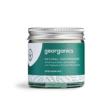 Dentifrice en poudre naturelle Georganics - Menthe verte